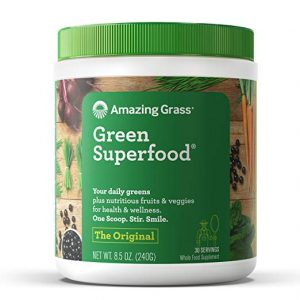 grass green superfood powder