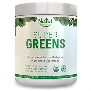 nested natural super greens