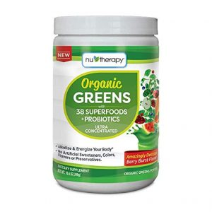 nu therapy organic greens superfood
