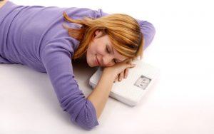 lose weight sleeping